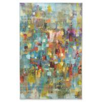 """Mohawk Confetti Canvas 3'9"""" x 5' Area Rug"""