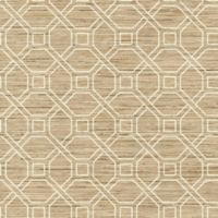 RoomMates Coastal Trellis Peel & Stick Wallpaper in Tan