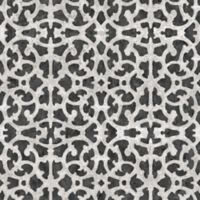 RoomMates® Scroll Gate Peel & Stick Wallpaper in Black/White