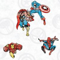 RoomMates® Marvel® Avengers Classic Peel & Stick Wallpaper in Red/Blue