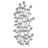 Ridge Road Décor Eclectic Floral Metal Wall Art
