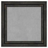 Amanti Art 15-Inch Square Framed Magnetic Board in Black