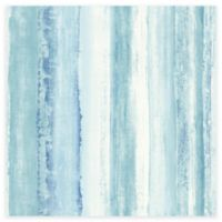RoomMates® Watercolor Stripe Peel & Stick Wallpaper in Blue
