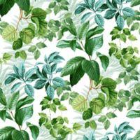 Roommates® Rain Forest Leaves Vinyl Peel & Stick Wallpaper in Green
