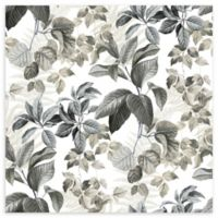 Roommates® Rain Forest Leaves Vinyl Peel & Stick Wallpaper in Neutral