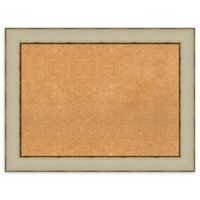 Amanti Art® Large Framed Cork Board in Rusted Cream