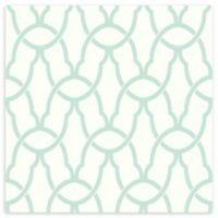 Roommates® Trellis Vinyl Peel & Stick Wallpaper in Blue
