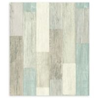 RoomMates® Weathered Wooden Planks Peel & Stick Wallpaper in Blue