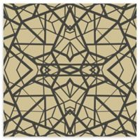RoomMates® Shatter Geometric Peel and Stick Wallpaper in Gold/Black