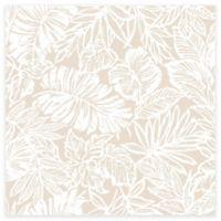 RoomMates® Tropical Leaf Peel & Stick Wallpaper in Tan