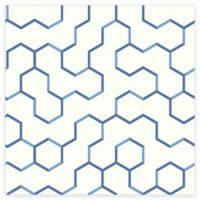 RoomMates® Open Geometric Peel & Stick Wallpaper in Blue