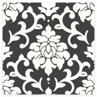 RoomMates® Damask Peel & Stick Wallpaper in Black