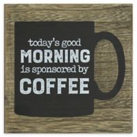 Sponsored by Coffee Wood Sign Wall Art