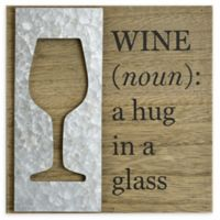 Wine Definition Wood Sign Wall Art