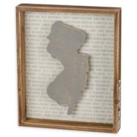 Primitives by Kathy® 10-Inch x 12-Inch New Jersey Wood Wall Art