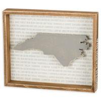 Primitives by Kathy® 12-Inch x 10-Inch North Carolina Wood Wall Art