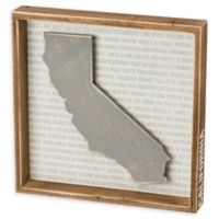 Primitives by Kathy® 12-Inch Square California Wood Wall Art