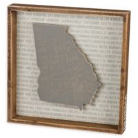 Primitives by Kathy® 12-Inch Square Georgia Wood Wall Art