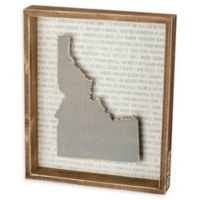 Primitives by Kathy® 12-Inch x 10-Inch Idaho Wood Wall Art