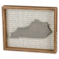 Primitives by Kathy® 12-Inch x 10-Inch Kentucky Wood Wall Art