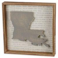 Primitives by Kathy® 12-Inch x 10-Inch Louisiana Wood Wall Art
