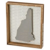 Primitives by Kathy® 12-Inch x 10-Inch New Hampshire Wood Wall Art