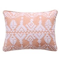 Levtex Home Addie Oblong Throw Pillow in Pink