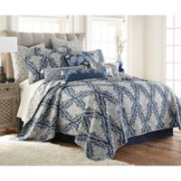 Levtex Home Giselle King Quilt Set in Blue