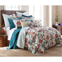 Levtex Home Ellie Twin Quilt Set in Blue/Red