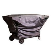 Char-Broil Polyester 4-Burner Gas Griddle Cover in Grey