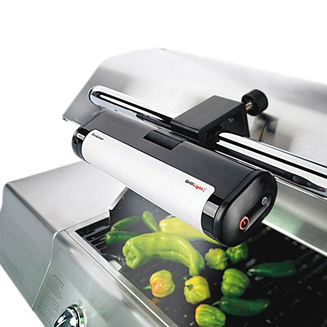 Brookstone handle mount grill light bed bath beyond brookstone handle mount grill light aloadofball Image collections