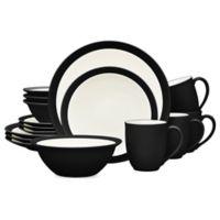 Noritake® Colorwave Curve 16-Piece Dinnerware Set in Graphite