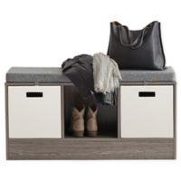 .ORG Storage Bench in Grey