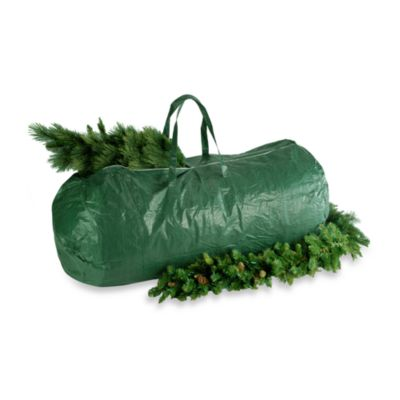heavy duty tree storage bag with handles and zipper - Christmas Tree Covers For Storage