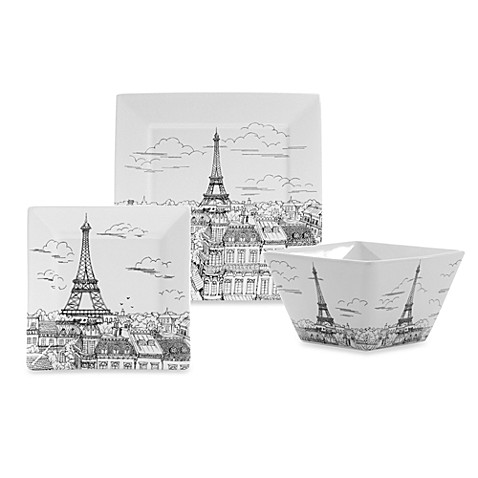 Eiffel Tower Dinnerware Pieces  sc 1 st  Bed Bath u0026 Beyond & Eiffel Tower Dinnerware Pieces - Bed Bath u0026 Beyond