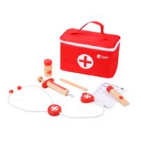 Classic World Wooden Doctor Case in Red