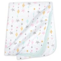 Just Born® One World™ Love & Sugar Baby Blanket in White/Pink