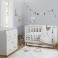 Just Born® One World™ Counting Sheep 3-Piece Crib Bedding Set in Grey