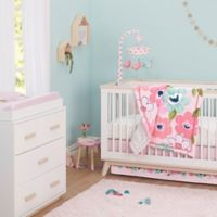 Just Born® One World ™ Collection Blossom 3-Piece Bedding Set in Pink
