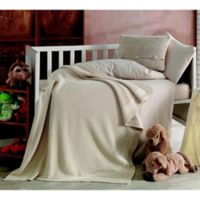 Nipperland® Venice Natural 6-Piece Crib Bedding Set in Beige