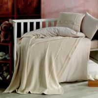 Nipperland® Heritage Natural 6-Piece Crib Bedding Set in Beige