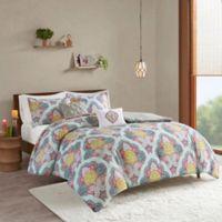 Intelligent Design Isadora 5-Piece Reversible Full/Queen Comforter Set