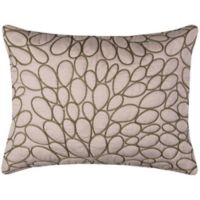 Rizzy Home Petal Standard Pillow Sham in Natural