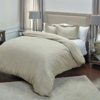 Rizzy Home Covington Queen Duvet Cover in Natural