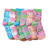 Donut One-Size 6-Pack Smelly Socks
