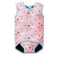 Splash About BabyWrap Size 6-18M Nina's Ark Wetsuit in Pink