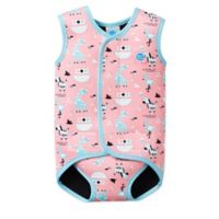 Splash About Size 18-30M Nina's Ark Baby Wrap Wetsuit in Pink