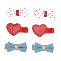 Carter's® 6-Pack Mini Bow Hair Clips