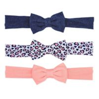 Carter's® 3-Pack Jersey Bow Headwraps