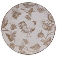 Certified International Toile Rooster Salad Plates (Set of 4)